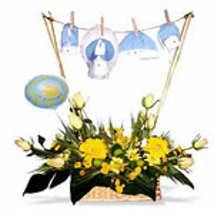Arreglo floral para Nacimientos Niño Cdo.04