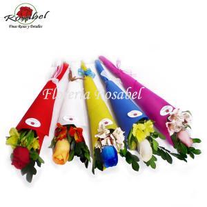 Ramitos de Rosas Individuales Mujer Cod 16