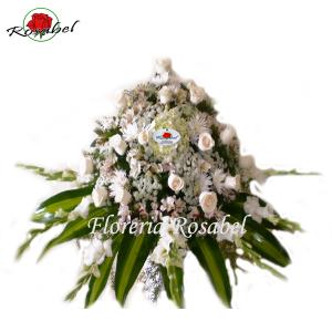 arreglo floral para funeral precios