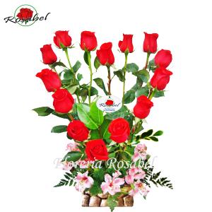 Arreglo Floral Bello Corazón