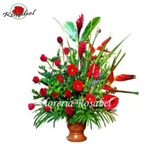 Flores para Inauguración Aniversario B4