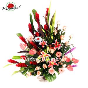 Flores para Inauguración Aniversario B6