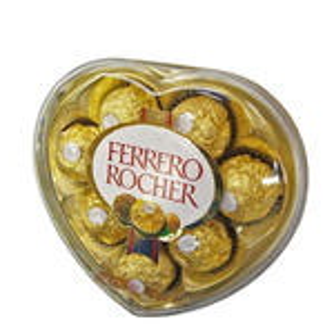 Bombones Ferrero Rocher caja en Corazón