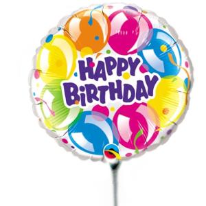 Globo Grande cumpleaños happy birthday