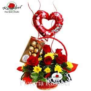 Dia de san Valentin Bello Amor