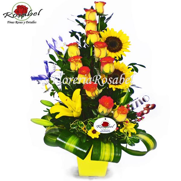Arreglo Floral para Cumpleaños Cdo17