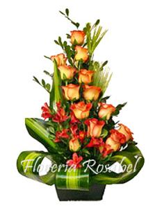 arreglo floral lenidas
