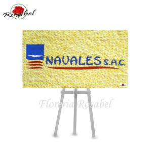 Logotipos florales para empresas Naval