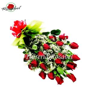 Ramo de 18 Rosas Rojas a domicilio para regalo