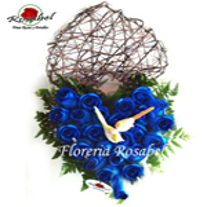 Corazon de Rosas Azules Cdo 02