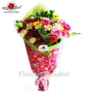 Ramo de Flores Primaveral, ramo de flores primaverales