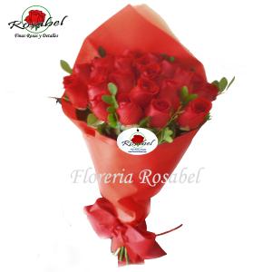 Ramo de 24 Rosas Rojas para regalar