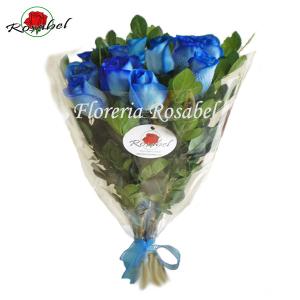 envio ramo de rosas azules, delivery 100 % seguro ROSABEL, rosas azules a domicilio