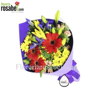 Ramo de flores para cumpleaños, lima peru