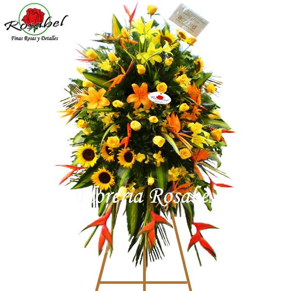 Flores para aniversarios, Inauguración de empresas