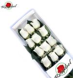 Caja de 12 Rosas Blancas
