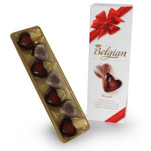 Chocolate Belgian corazones CH7