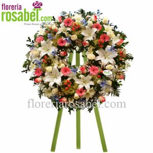 Corona funebre lima , envios de coronas funerarios a lima peru
