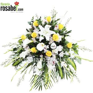 envio lagrimas funebres a lima peru floreria rosabel