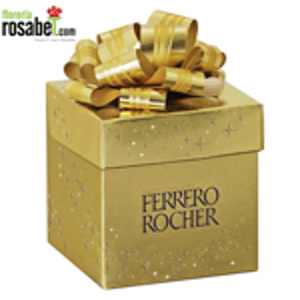 Chocolate Ferrero Rocher Caja de Regalo, caja de regalo con chocolates ferrero rocher