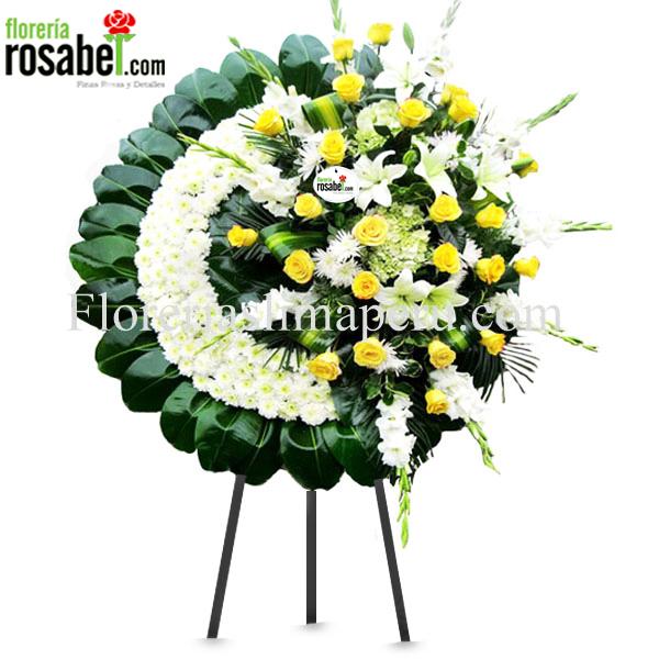 Corona Arreglo Floral Para Funeral Precios