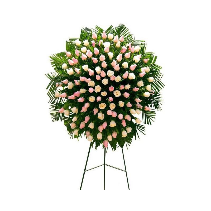 coronas funebres para velorios, arreglos funebres para sepelios, delivery coronas funebres para velorios condolencias