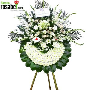 coronas funebres en florerias lima peru