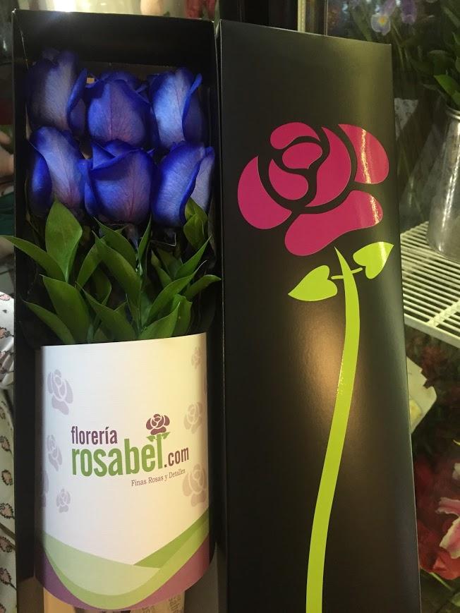 Demuéstrale a tu pareja que esperas tener un futuro sólido! Obséquiale la Caja negra de 6 Rosas Azules ya que las Rosas Azules no sólo representan en su totalid