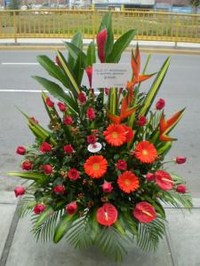Flores para Inauguración Aniversario B2